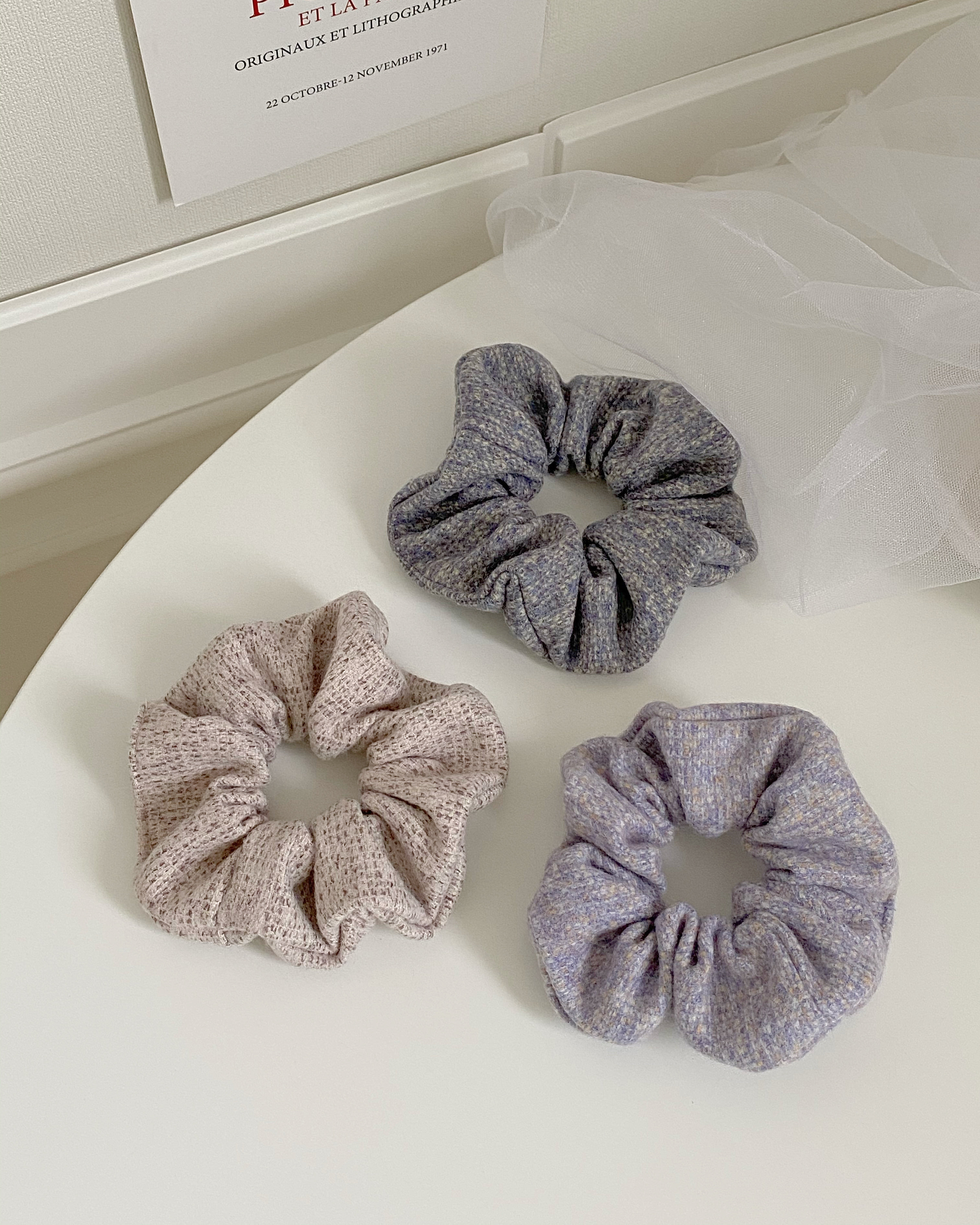 cookie scrunchy (3 color)