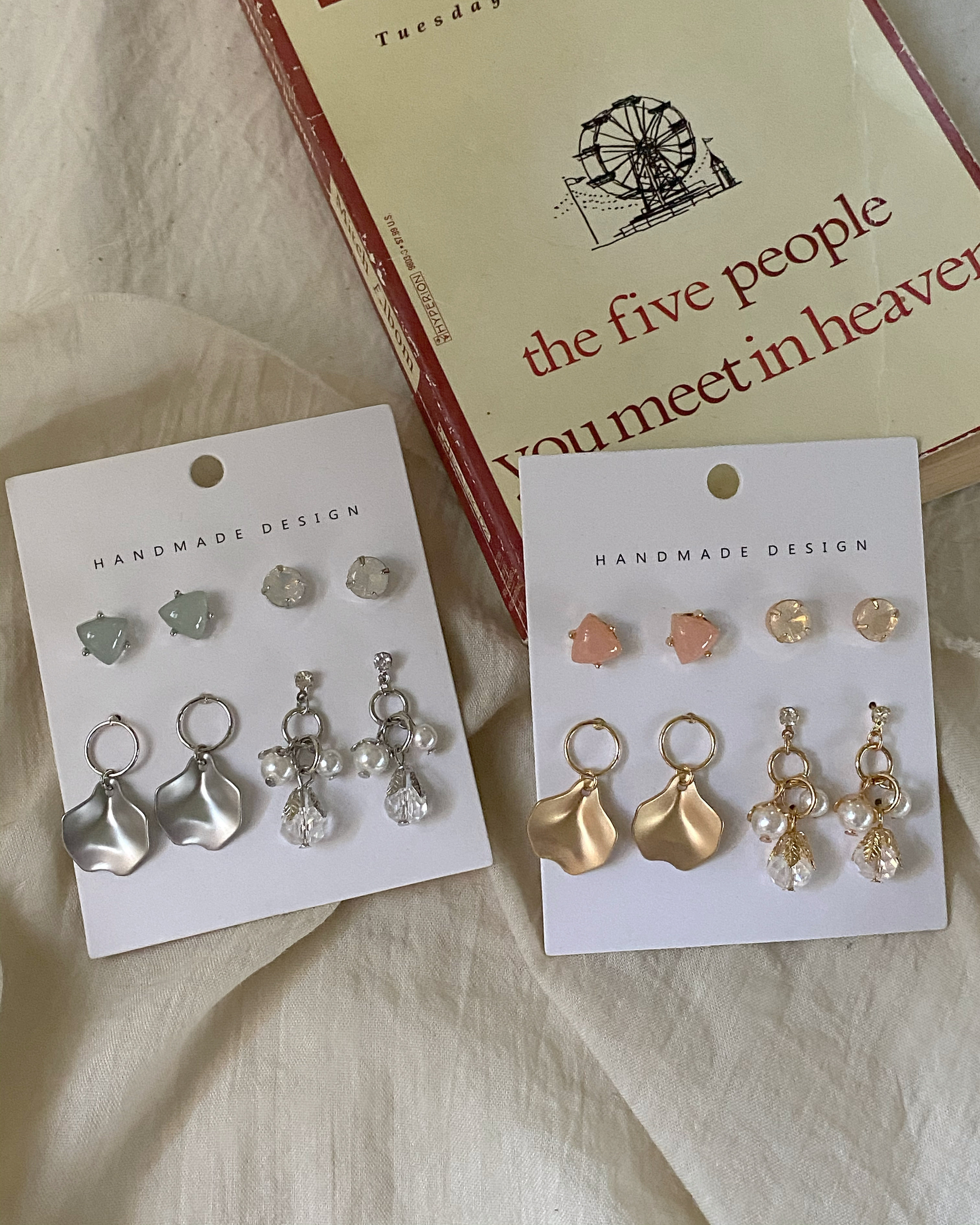 gentle earring set (2 color)